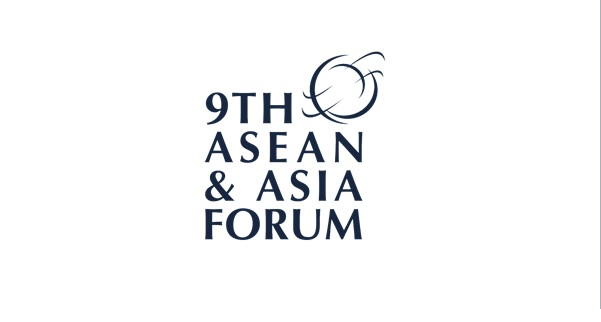 9th ASEAN and Asia Forum (AAF) Logo
