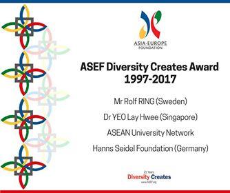 ASEF diversity creates award