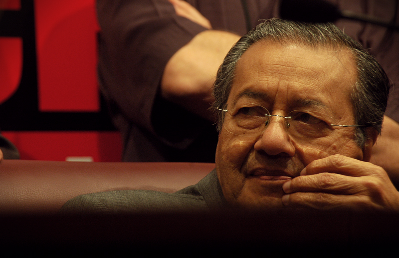 "Photo credit: ""Tun Mahathir"" by udeyismail is licensed under CC BY 2.0"