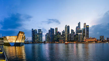 "Photo credit: ""Singapore Marina Bay Dusk"" by Benh Lieu Song is licensed under CC BY-SA 2.0"