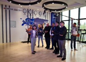 Briefing at China Express's Xi'An Inland Container Port on how China-Europe rail connectivity could change freight transport.