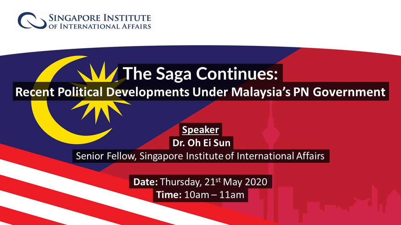 Webinar 4 - Malaysian Politics