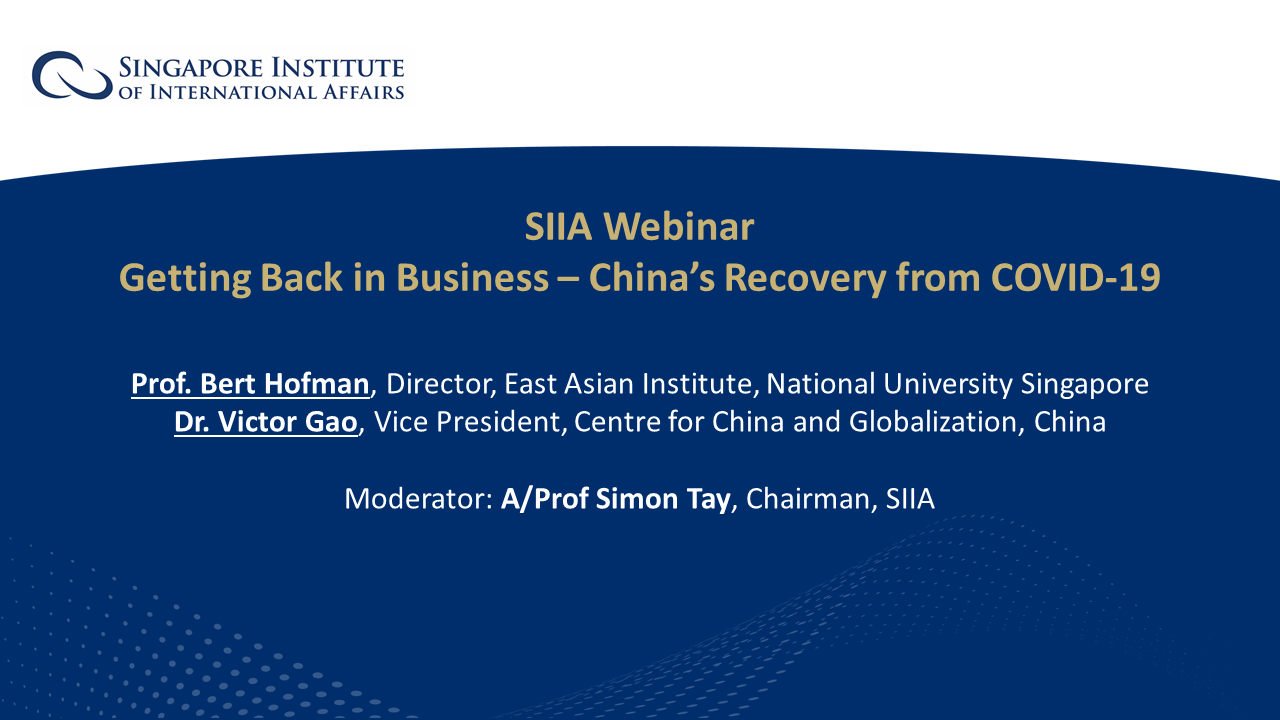 Webinar - Holding Slides - China